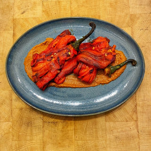 ROASTED PALERMO PEPPERS