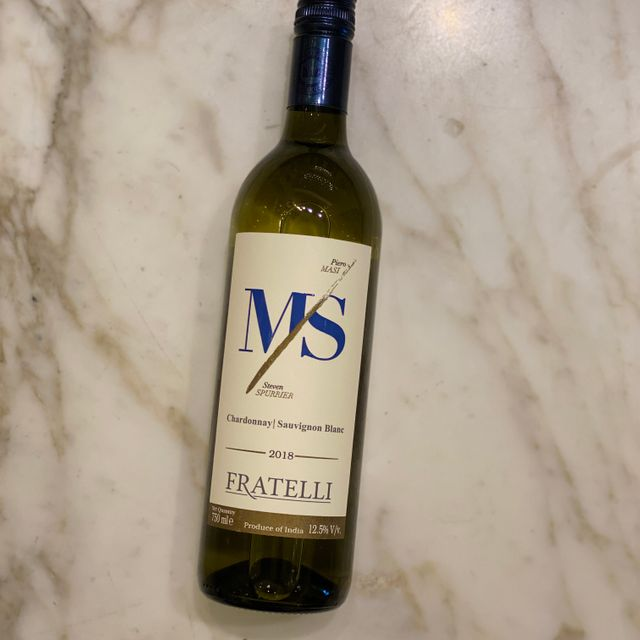 12-Bottle-Deal - Fratelli M/S Chardonnay/Sauvignon Blanc 2018 - 750ml