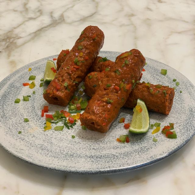 PEPPER SEEKH KEBAB