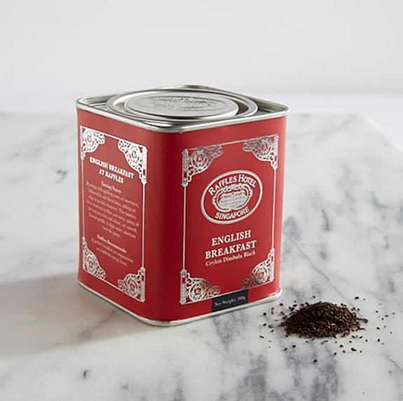 Raffles English Breakfast Loose Leaf Tea